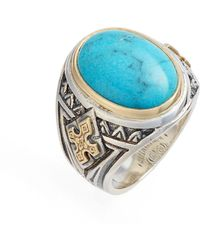 Konstantino - Heonos Turquoise Ring - Lyst