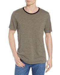 Rag & Bone - Slubbed Ringer T-shirt - Lyst