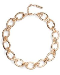 Steve Madden - Rolo Chain Necklace - Lyst
