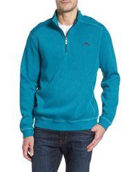 Tommy Bahama - Nassau Quarter Zip Pullover - Lyst