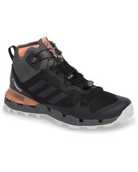 adidas - Terrex Fast Mid Gore-tex Hiking Boot - Lyst