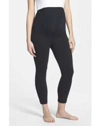 Ingrid & Isabel - Ingrid & Isabel Active Maternity Capri Pants With Crossover Panel - Lyst