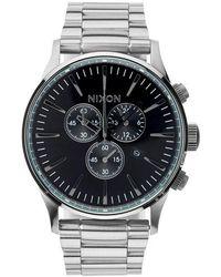 Nixon | 'the Sentry' Chronograph Bracelet Watch | Lyst