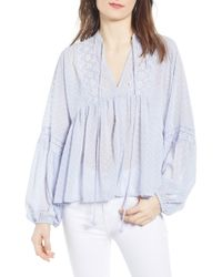 Bishop + Young - Swiss Dot Blouse - Lyst