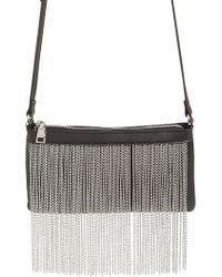 Steve Madden - Chain Fringe Crossbody Bag - Lyst