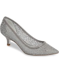 Adrianna Papell - 'lois' Mesh Pump - Lyst