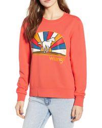 Wrangler - Horse Graphic Sweatshirt - Lyst