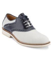 G.H. Bass & Co. - Noah Saddle Shoe - Lyst