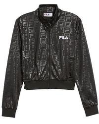 Fila - Isidora Embossed Logo Track Jacket - Lyst