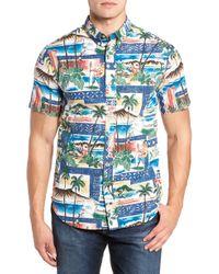 f030e565210 Lyst - Reyn Spooner Hawaiian Christmas 2018 Tailored Fit Sport Shirt ...
