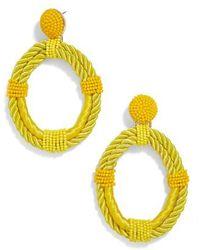 BaubleBar - Sonique Beaded Drop Earrings - Lyst