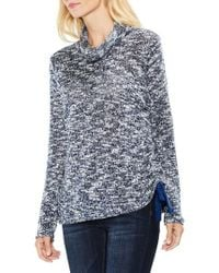 Two By Vince Camuto   Funnel Neck Pullover   Lyst