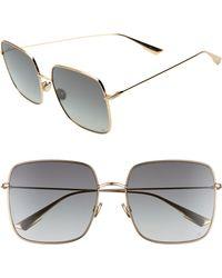 225292c5226 Dior - Stellaire 59mm Square Sunglasses - Lyst