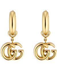 7ca0c40f7 Gucci Running Drop Earrings. Gucci. Running Drop Earrings. $2,600.  Nordstrom. Gucci GG Running 18ct White-gold And Diamond Stud Earrings