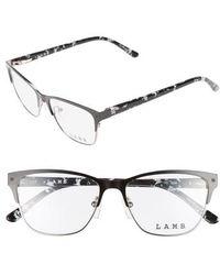 L.A.M.B. - 52mm Cat Eye Optical Glasses - Lyst