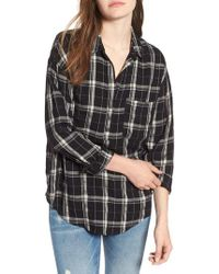 Nordstrom - Slouchy Pocket Henley - Lyst