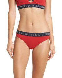 Tommy Hilfiger - Sporty Cheeky Bikini - Lyst