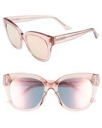 Chelsea28 - See Saw 55mm Cat Eye Sunglasses - - Lyst