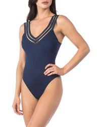 Kenneth Cole | Stompin' In My Stilettos One-piece Swimsuit | Lyst