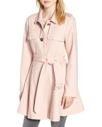Kate Spade - Skirted Trench Coat - Lyst