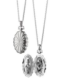 Monica Rich Kosann - Sunburst Locket Necklace - Lyst