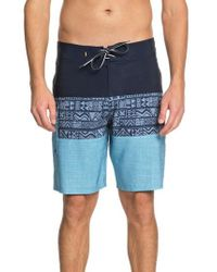 Quiksilver | Fairway Triblock Board Shorts | Lyst
