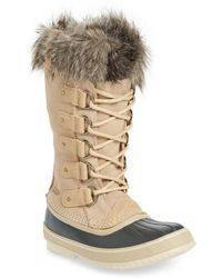 Sorel - 'joan Of Arctic' Waterproof Snow Boot - Lyst
