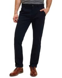 Robert Graham - Layton Tailored Fit Stretch Cotton Pants - Lyst