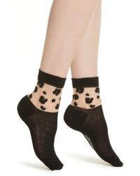 Richer Poorer - Cheeta Ankle Socks - Lyst