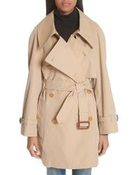 Burberry - Fortingall Cotton Gabardine Trench Coat - Lyst