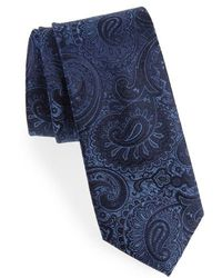 Calibrate - Berwyn Paisley Silk Tie - Lyst
