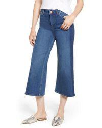 Boden - York Side Stripe Cropped Jeans - Lyst