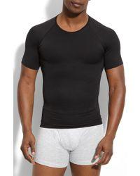 Spanx - Spanx 'zoned Performance' Compression Crewneck T-shirt - Lyst