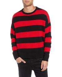The Kooples - Shredded Stripe Sweater - Lyst