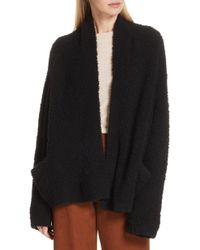 Vince - Teddy Wool Blend Cardigan - Lyst