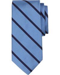 Brooks Brothers - Stripe Silk Tie - Lyst