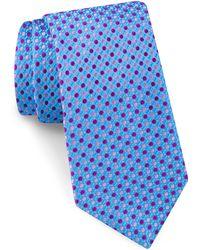 Ted Baker - Alternating Dot Silk Tie - Lyst