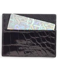 Martin Dingman   Executive Leather Card Case   Lyst