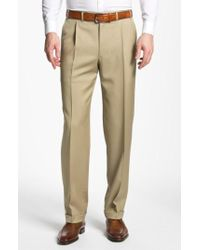 Canali   Pleated Trousers   Lyst
