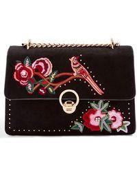 TOPSHOP - Spring Embroidered Bird Summer Handbag - Lyst