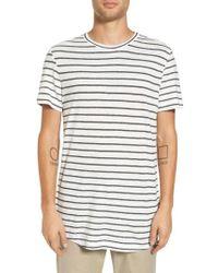 Theory | Stripe Palm Jersey Standard T-shirt | Lyst