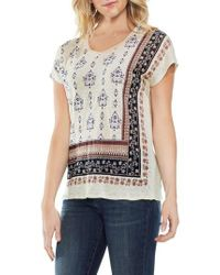 Vince Camuto - Wallflower Print Top - Lyst