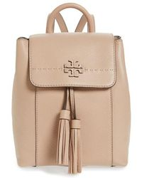 Tory Burch - Mcgraw Leather Backpack - Lyst