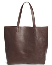 Madewell - Transport Leather Tote - - Lyst