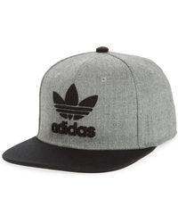 6e039d90ee6 adidas Originals - Trefoil Chain Snapback Baseball Cap - - Lyst