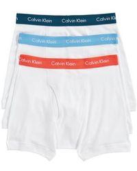 CALVIN KLEIN 205W39NYC - 3-pack Boxer Briefs - Lyst