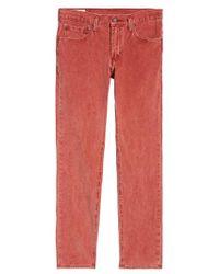Levi's - Levi's 511(tm) Slim Fit Corduroy Pants - Lyst
