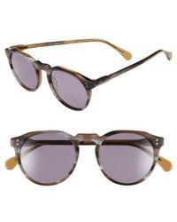 Raen - 'remmy' 49mm Polarized Sunglasses - - Lyst