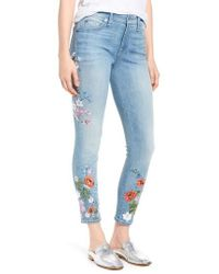 7 For All Mankind - 7 For All Mankind The Ankle Skinny Jeans - Lyst
