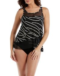 Miraclesuit - Miraclesuit Chain Reaction Mirage Underwire Tankini Top - Lyst